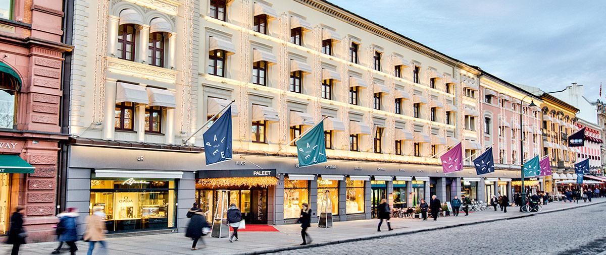 Bilde av Paleet på Karl Johan.